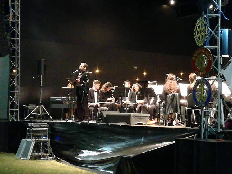 """R. C. Fafe organizou evento solidário: """"Música no Parque"""""""