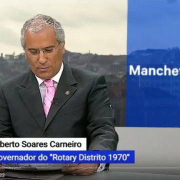 Governador Alberto Soares Carneiro convidado do programa 3 às 10 da RTP3