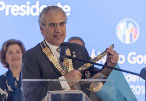 """Novo Governador do Rotary Distrito 1970 promete """"maior abertura à sociedade e apoiar mais causas locais, nacionais e internacionais"""""""