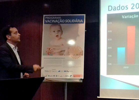 Rotary Club da Figueira da Foz promove programa de vacinação infantil