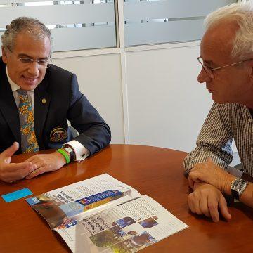 Governador Alberto Soares Carneiro visitou o grupo Bernardo da Costa
