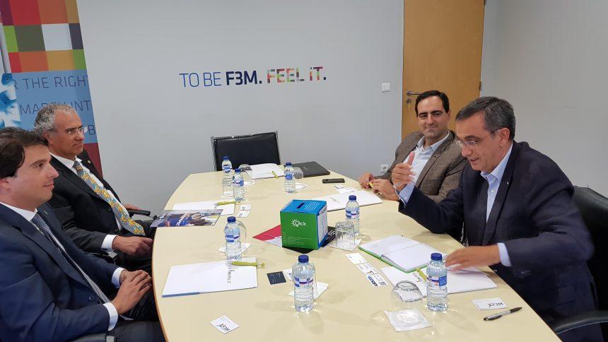 Alberto Soares Carneiro visitou a F3M em Braga