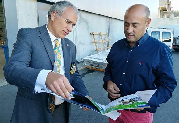 Alberto Soares Carneiro visitou a MARSILINOX