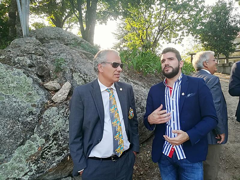 Governador do Distrito 1970 visitou o Hotel Quinta Rural S. Pedro