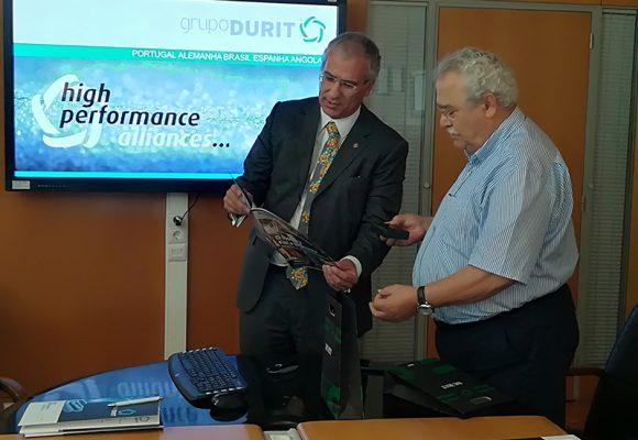 Alberto Soares Carneiro visitou o Grupo DURIT
