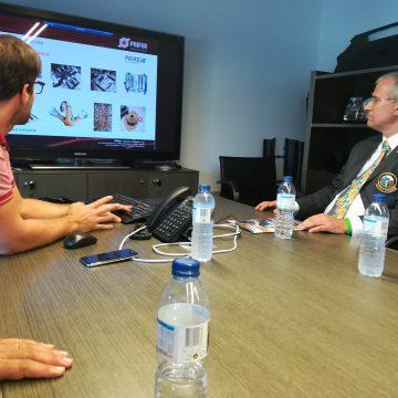 Governador Soares Carneiro visitou a Prifer em Albergaria-a-Velha