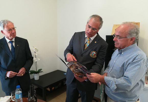 Governador do Distrito 1970 visitou a Lactimercados em Vila Verde