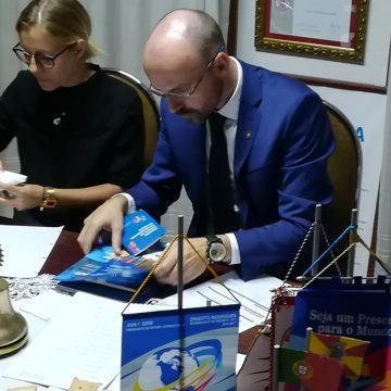 Visita Oficial do Governador ao Rotary Club de Barcelos