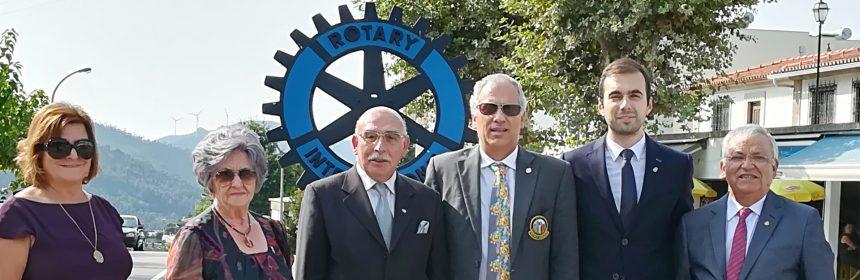 Visita Oficial do Governador ao Rotary Club de Castelo de Paiva