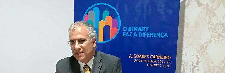 Mensagem de março do Governador do Distrito 1970 Alberto Soares Carneiro
