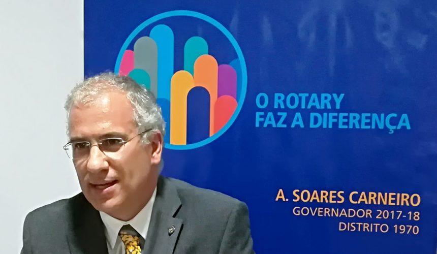 Mensagem de fevereiro do Governador do Distrito 1970 Alberto Soares Carneiro