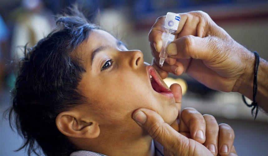 Juntos nós vamos acabar com a Pólio