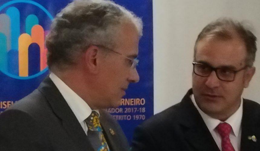 Visita Oficial do Governador ao Rotary Club de Vila Verde