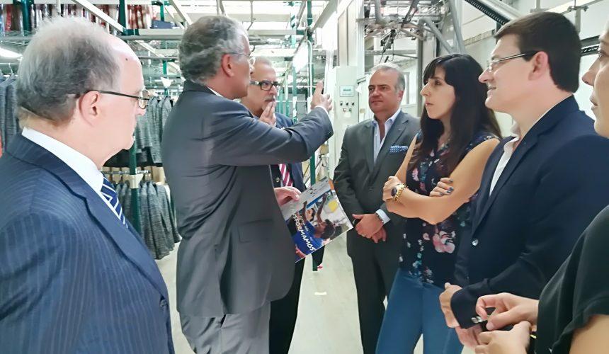 Alberto Soares Carneiro visitou o grupo Goucam em Viseu