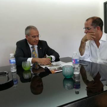 Governador do Distrito 1970 visitou a Baptista e Soares