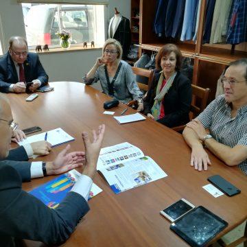 Governador do Distrito 1970 visitou a DAVION-Indústria de Vestuário S.A.