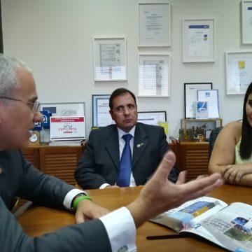 Governador do Distrito 1970 visitou a Costa Ibérica em Mangualde
