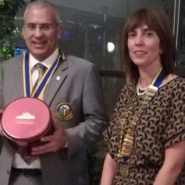 Visita Oficial do Governador ao Rotary Club da Feira