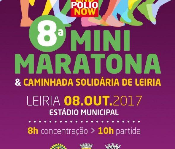 8ª Mini Maratona e Caminhada Solidária de Leiria vai apoiar a End Polio Now