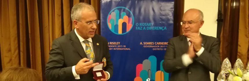 Visita Oficial do Governador ao Rotary Club de Ovar