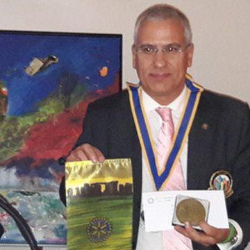 Visita Oficial do Governador ao Rotary Club de Porto-Antas
