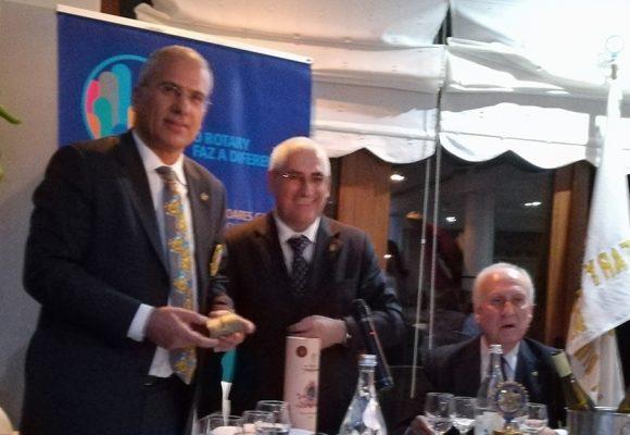 Visita Oficial do Governador ao Rotary Club da Póvoa de Lanhoso