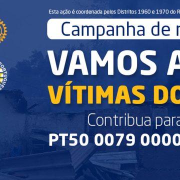 Rotary em Portugal lança campanha de angariação de fundos para ajudas as vítimas dos incêndios