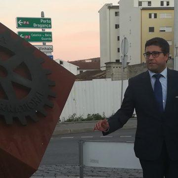 Visita Oficial do Governador ao Rotary Club de Mirandela