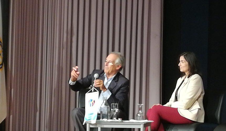 Manuel Sobrinho Simões explicou a influência dos genes e dos hábitos na saúde