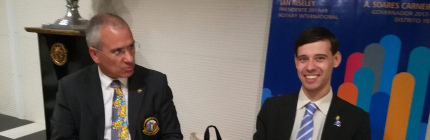 Visita Oficial do Governador ao Rotary Club de Oliveira do Hospital