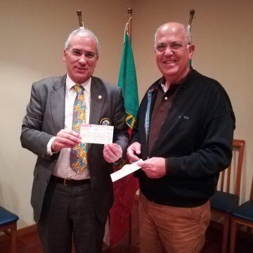 Visita Oficial do Governador ao Rotary CLub de São Mamede de Infesta