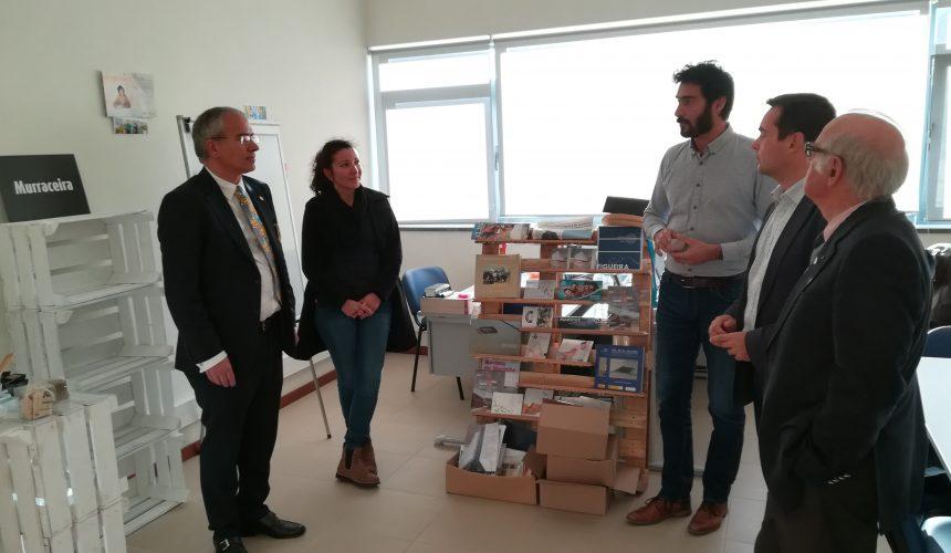 Soares Carneiro visitou a Incubadora de Empresas da Figueira da Foz