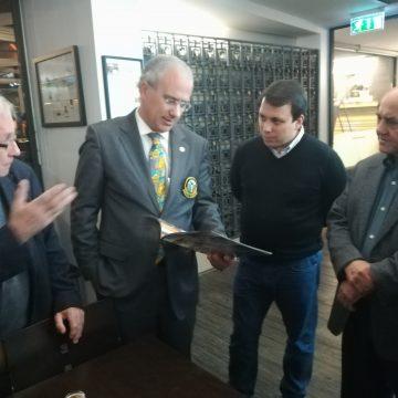 Governador do Distrito 1970 visitou o Museu da Cerveja Tradicional Praxis