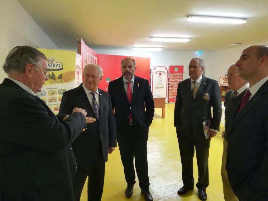 Soares Carneiro conheceu as instalações da Conservas Ramirez em Matosinhos
