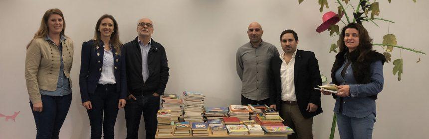 RC Águeda doa livros para a Biblioteca Municipal da cidade