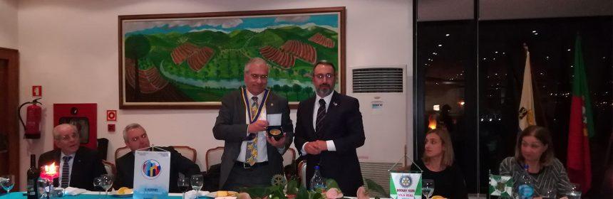 Visita Oficial do Governador ao Rotary Club de Vila Real