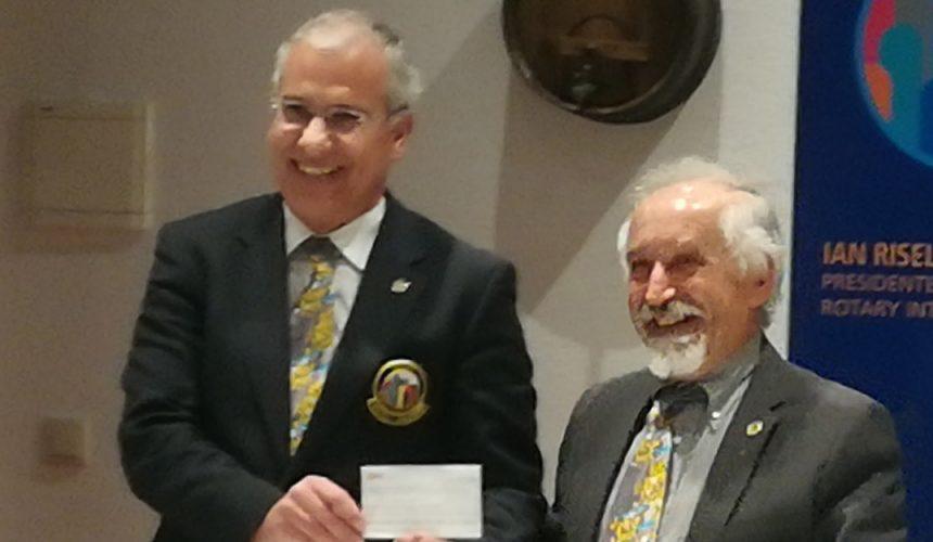 Visita Oficial do Governador ao Rotary Club de Tondela