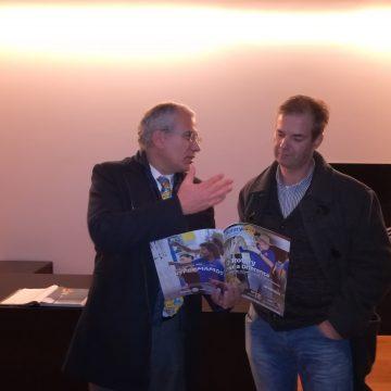 Soares Carneiro conheceu as instalações da Cutipol em Caldas das Taipas