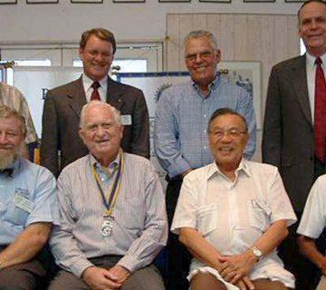 Quem é o seu mentor especial do Rotary?