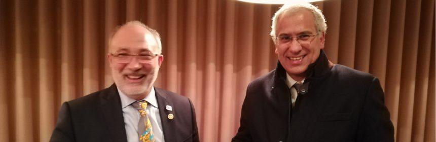 Visita Oficial do Governador ao Rotary Club de Caldas das Taipas