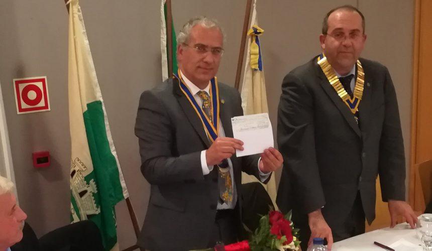 Visita Oficial do Governador ao Rotary Club de Monção