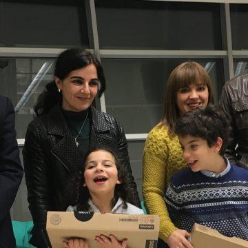 RC Vale de Cambra ofereceu dois portáteis a alunos com necessidades educativas especiais