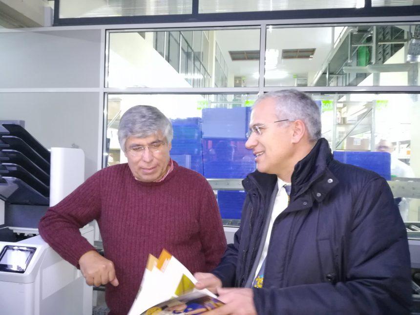 Governador Soares Carneiro conheceu as instalações da OCP Portugal no Peso da Régua