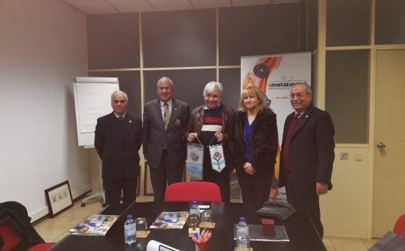 Soares Carneiro conheceu as instalações de A Metalúrgica em Valongo