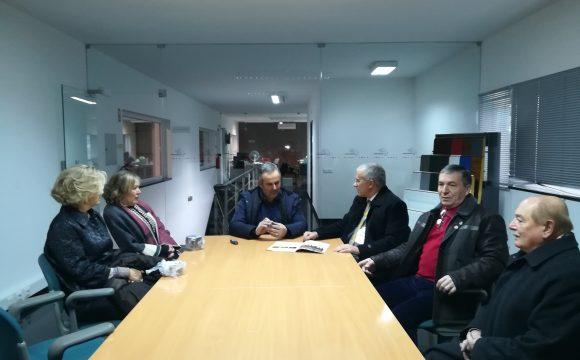 Soares Carneiro conheceu as instalações da TECNOPAN