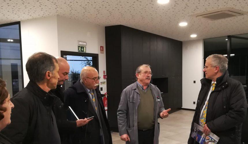 Alberto Soares Carneiro conheceu as instalações da Gosimac