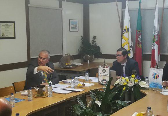 Visita Oficial do Governador ao Rotary Club da Régua