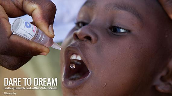 Como o Rotary se tornou o coração e alma da Erradicação da Pólio