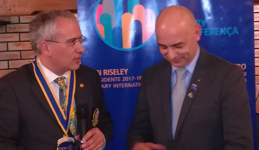 Visita Oficial do Governador ao Rotary Club de Pombal