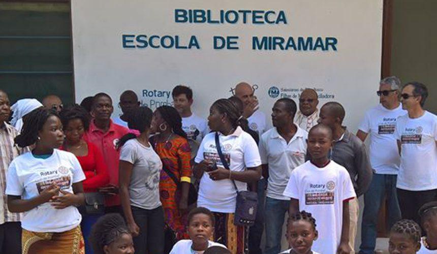 Rotary Club de Pombal inaugura Biblioteca em Moçambique